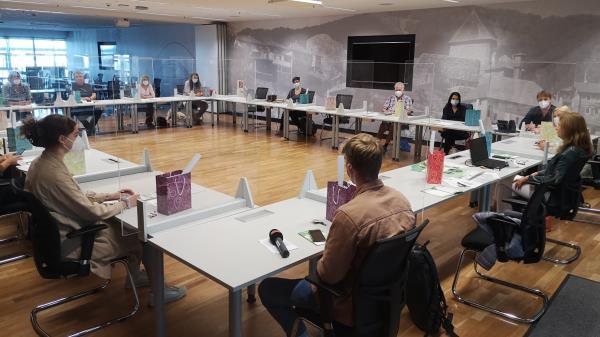 Das erste Treffen als Startschuss für den Heldenpass 2021/2022